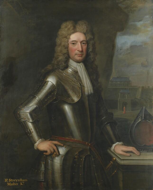 Sir Streynsham Master, by Charles D'Agar, 1714 -NPG 6107 - © National Portrait Gallery, London