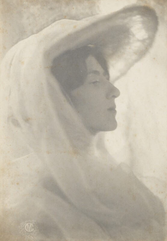 Lady Ottoline Morrell, by Cavendish Morton, circa 1904 - NPG P479 - © National Portrait Gallery, London