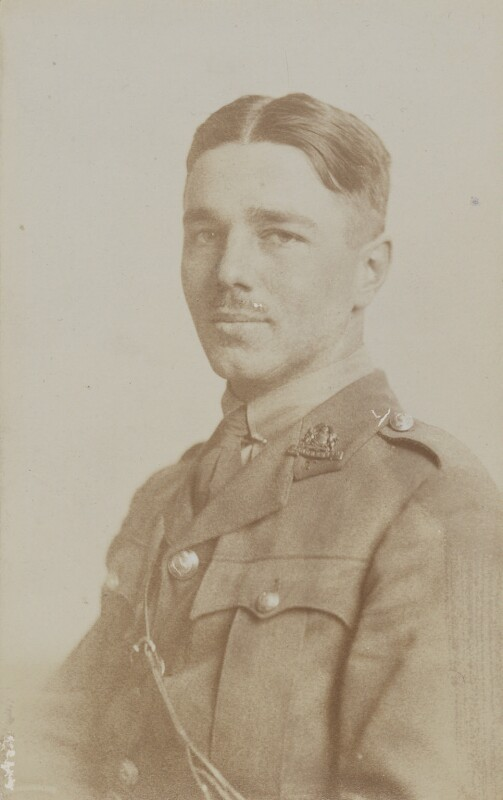 Wilfred Owen, by John Gunston, 1916 - NPG P515 - © National Portrait Gallery, London