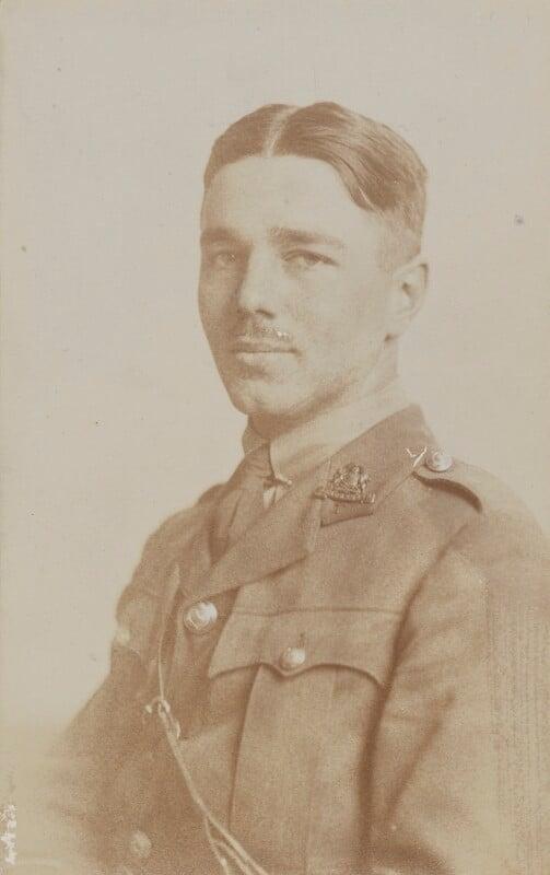 Wilfred Owen, by John Gunston, 1916 - NPG P515 - © National Portrait Gallery, London