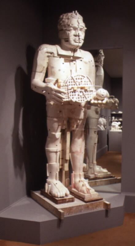 Sir Eduardo Paolozzi ('The Artist as Hephaestus'), by Sir Eduardo Luigi Paolozzi, 1987 - NPG 6097 - Photograph © National Portrait Gallery, London