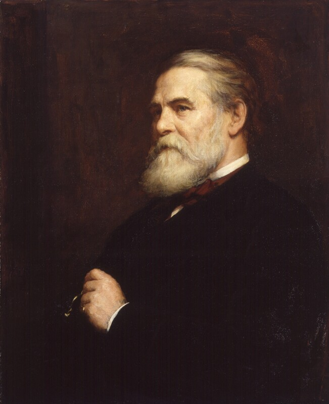 John Loughborough Pearson, by Walter William Ouless, 1889 - NPG 6176 - © National Portrait Gallery, London
