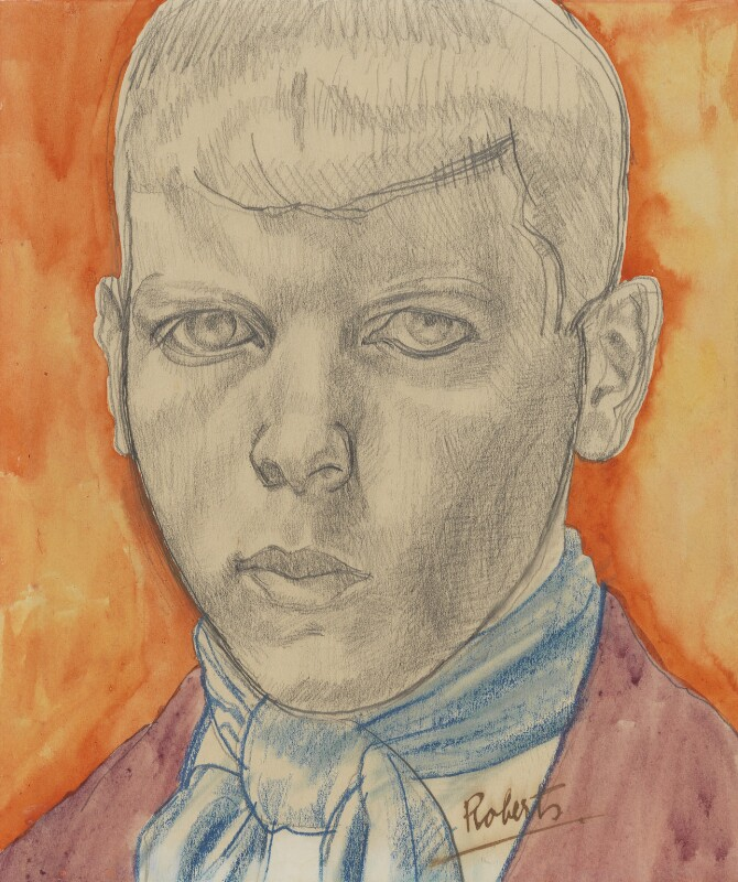 William Roberts, by William Roberts, circa 1912-1913 - NPG 6135 - © William Roberts Society
