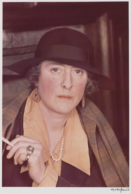 Vita Sackville-West, by Gisèle Freund, 1939 - NPG P437 - © Estate Gisèle Freund / IMEC Images