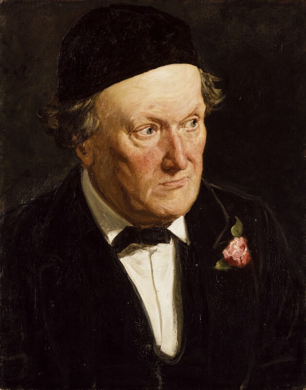 William Bell Scott, by Frederick Bacon Barwell, 1877 - NPG 6105 - © National Portrait Gallery, London