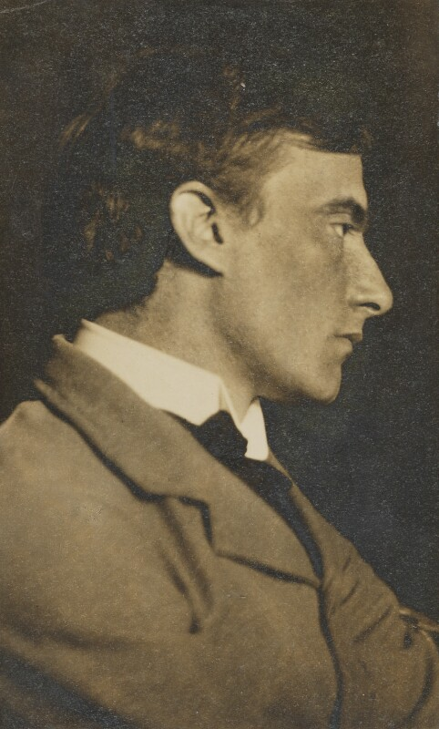 Edward Thomas, by Frederick Henry Evans, circa 1904 - NPG P476 - © National Portrait Gallery, London
