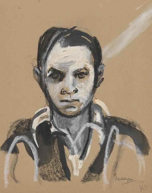 Keith Vaughan, by Keith Vaughan, 1950 - NPG 6155 - © National Portrait Gallery, London