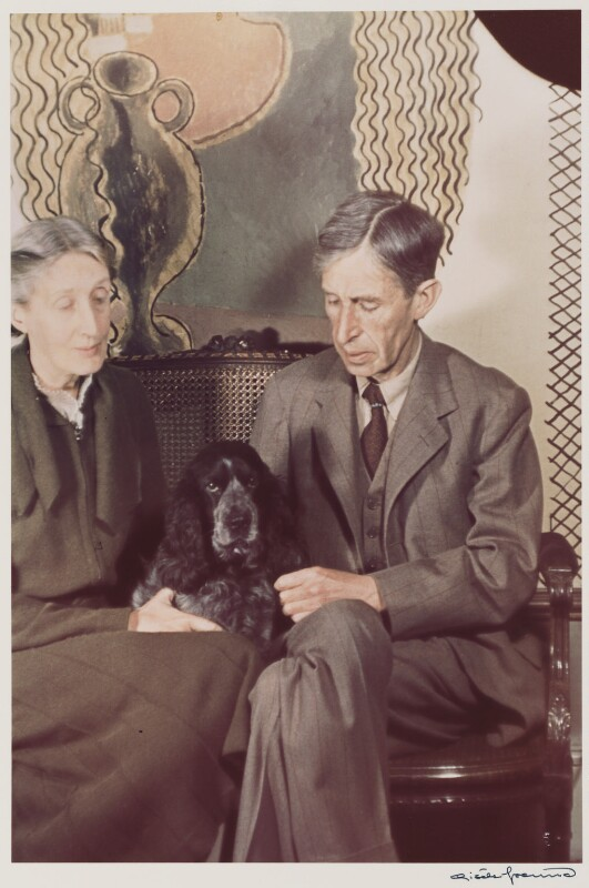 Virginia Woolf; Leonard Sidney Woolf, by Gisèle Freund, 1939 - NPG P439 - © Estate Gisèle Freund / IMEC Images