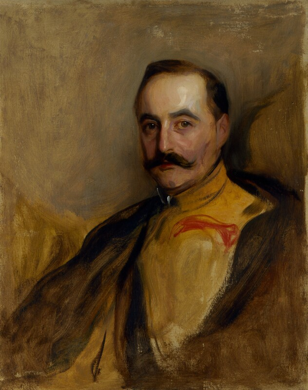 Count Albert Mensdorff-Pouilly-Dietrichstein, by Philip Alexius de László, before 1907 - NPG 5396a - © National Portrait Gallery, London