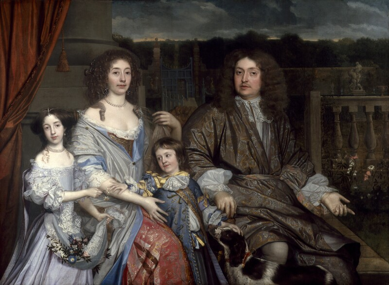 The Family of Sir Robert Vyner, by John Michael Wright, 1673 - NPG 5568 - © National Portrait Gallery, London