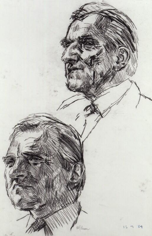 Sidney Weighell, by Hans Schwarz, 1984 - NPG 5793(2) - © National Portrait Gallery, London