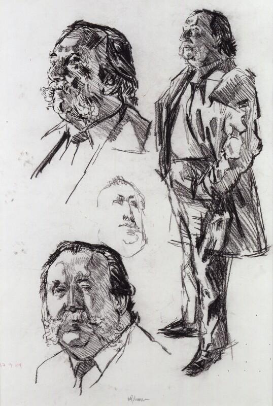 Sir Thomas Jackson, by Hans Schwarz, 1984 - NPG 5793(3) - © National Portrait Gallery, London