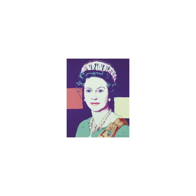 Queen Elizabeth II, by Andy Warhol, 1985 - NPG 5882(1) - © 2018 The Andy Warhol Foundation for the Visual Arts, Inc. / Artists Rights Society (ARS), New York and DACS, London