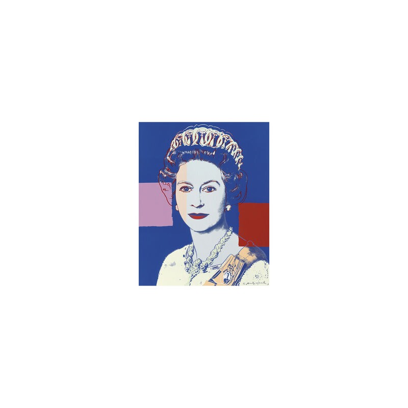 Queen Elizabeth II, by Andy Warhol, 1985 - NPG 5882(2) - © 2018 The Andy Warhol Foundation for the Visual Arts, Inc. / Artists Rights Society (ARS), New York and DACS, London