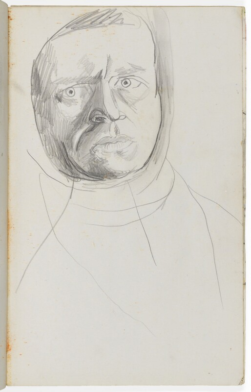 Graham Sutherland, by Graham Sutherland, circa 1945-1946 - NPG 5337 - © National Portrait Gallery, London