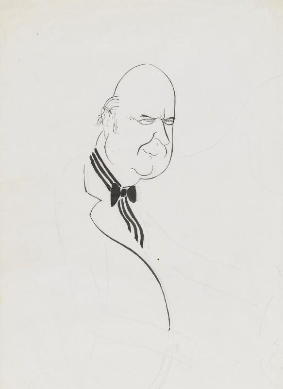 Noel Gilroy Annan, Baron Annan, by Mark Boxer, 1960s - NPG 5920(2) - © estate of Mark Boxer