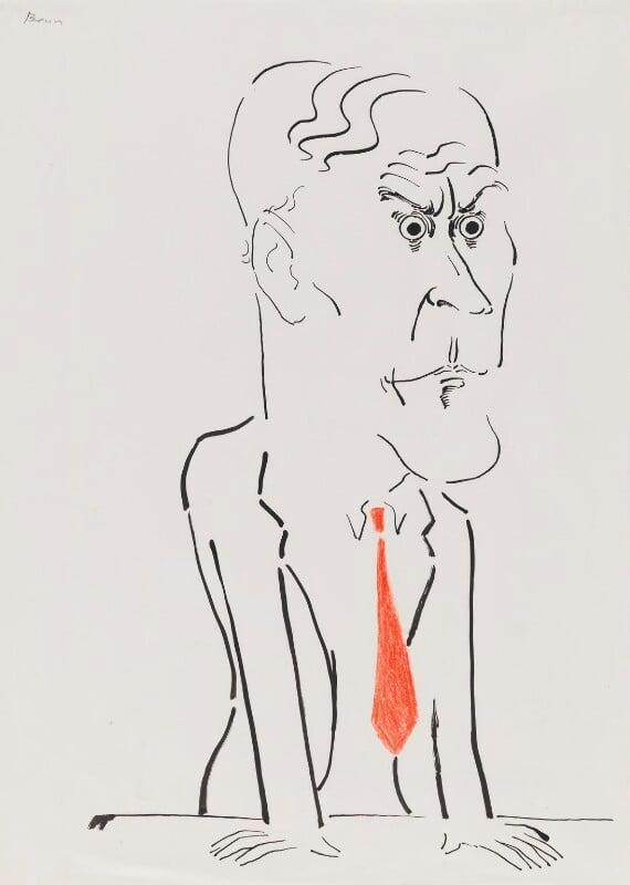 Tony Benn, by Mark Boxer, 1970s - NPG 5920(4) - © estate of Mark Boxer