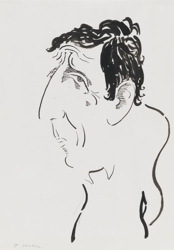 Jonathan Miller, by Mark Boxer, 1970s - NPG 5920(18) - © estate of Mark Boxer