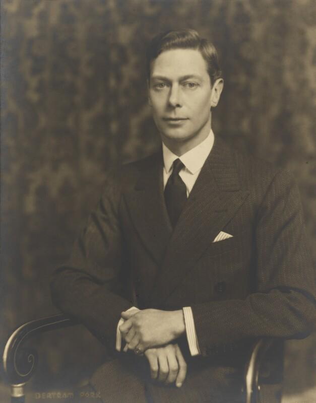 King George VI, by Bertram Park, 1936 - NPG P140(5) - © estate of Bertram Park / Camera Press