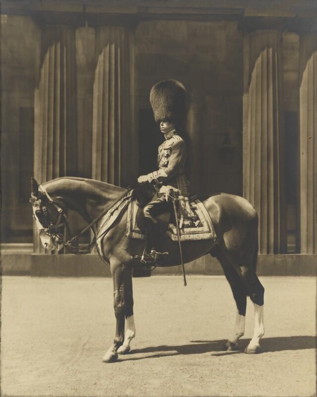 King George VI, by Bertram Park, circa 1936 - NPG P140(6) - © estate of Bertram Park / Camera Press