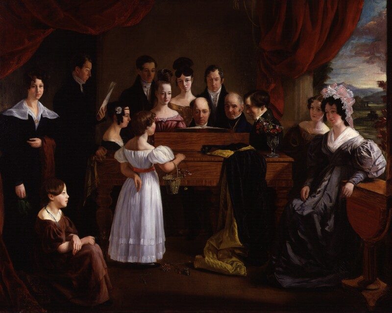 The Novello Family, by Edward Petre Novello, circa 1830 - NPG 5686 - © National Portrait Gallery, London