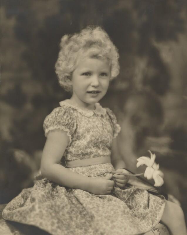 Princess Anne, by Marcus Adams, 1954 - NPG P140(28) - © estate of Marcus Adams / Camera Press