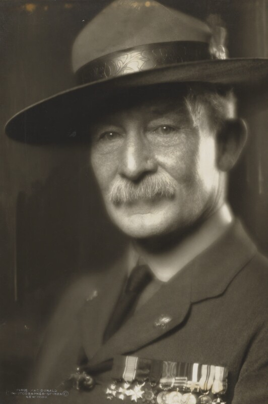 Robert Baden-Powell, by Pirie MacDonald, 1919 - NPG P140(30) - © National Portrait Gallery, London