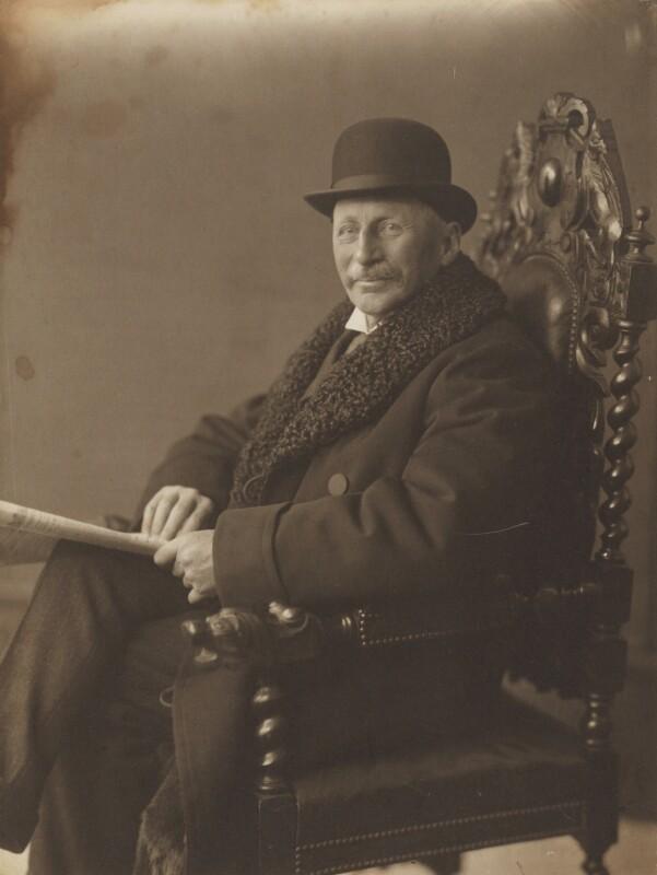 Charles Edward Keyser, by (Arthur) Walton Adams, 1910s - NPG P140(34) - © National Portrait Gallery, London