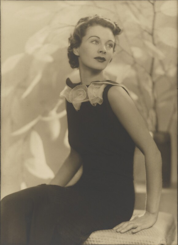 Vivien Leigh, by Bertram Park, 16 July 1935 - NPG P140(35) - © estate of Bertram Park / Camera Press