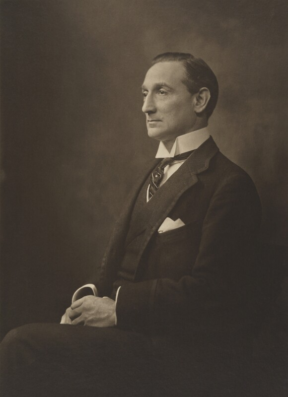 Rufus Isaacs, 1st Marquess of Reading, by (Arthur) Walton Adams, 1910s - NPG P140(40) - © National Portrait Gallery, London