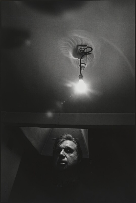 Francis Bacon, by Arnold Newman, 1975 - NPG P150(3) - © Arnold Newman / Getty Images