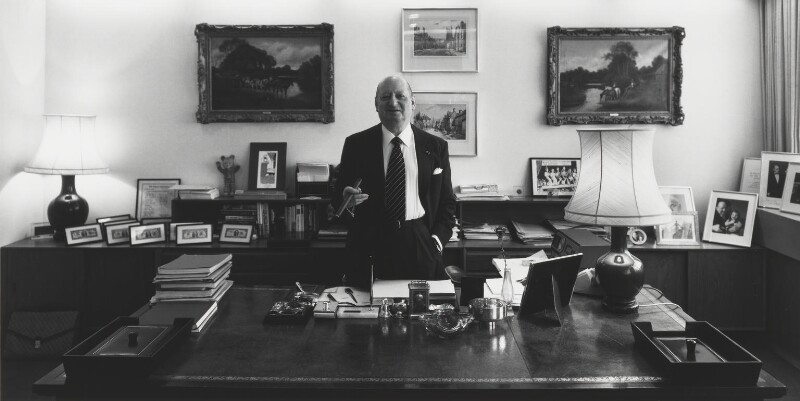 Lew Grade, Baron Grade, by Arnold Newman, 1978 - NPG P150(17) - © Arnold Newman / Getty Images