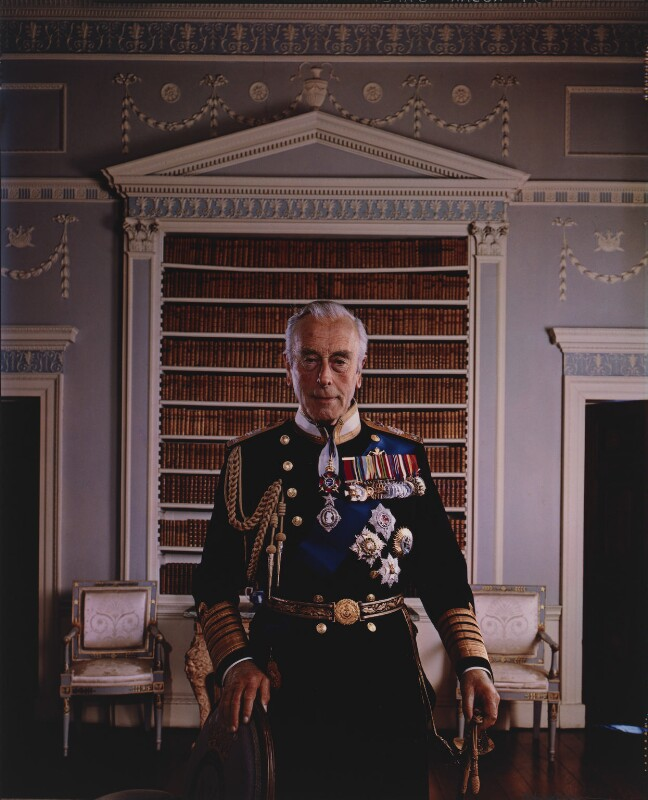 Npg P150 26 Louis Mountbatten Earl Mountbatten Of Burma Portrait National Portrait Gallery