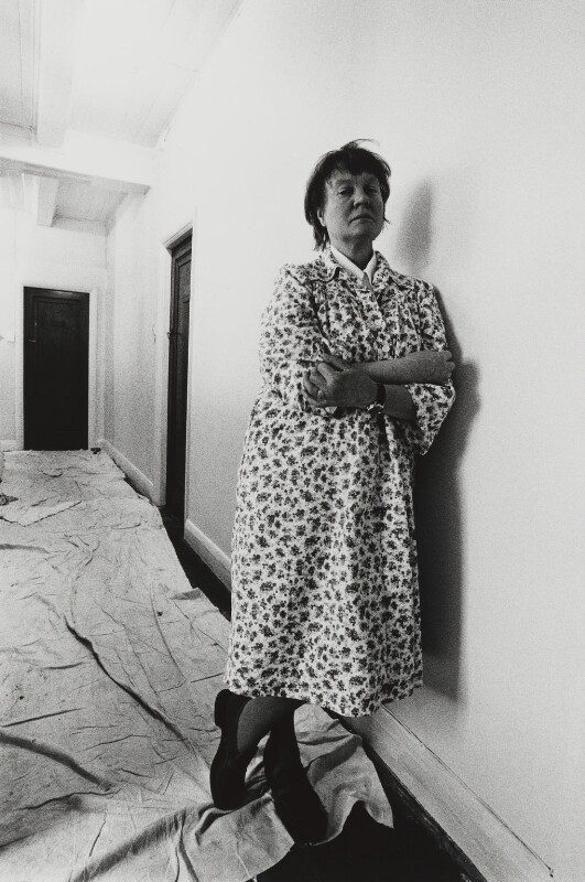 Iris Murdoch, by Arnold Newman, 1978 - NPG P150(27) - © Arnold Newman / Getty Images