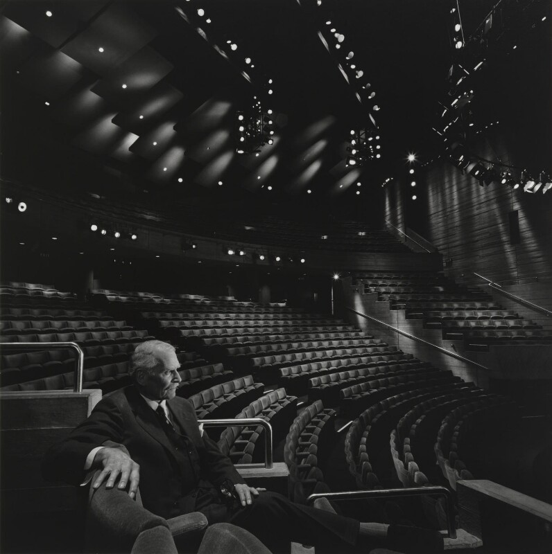 Laurence Kerr Olivier, Baron Olivier, by Arnold Newman, 1978 - NPG P150(29) - © Arnold Newman / Getty Images
