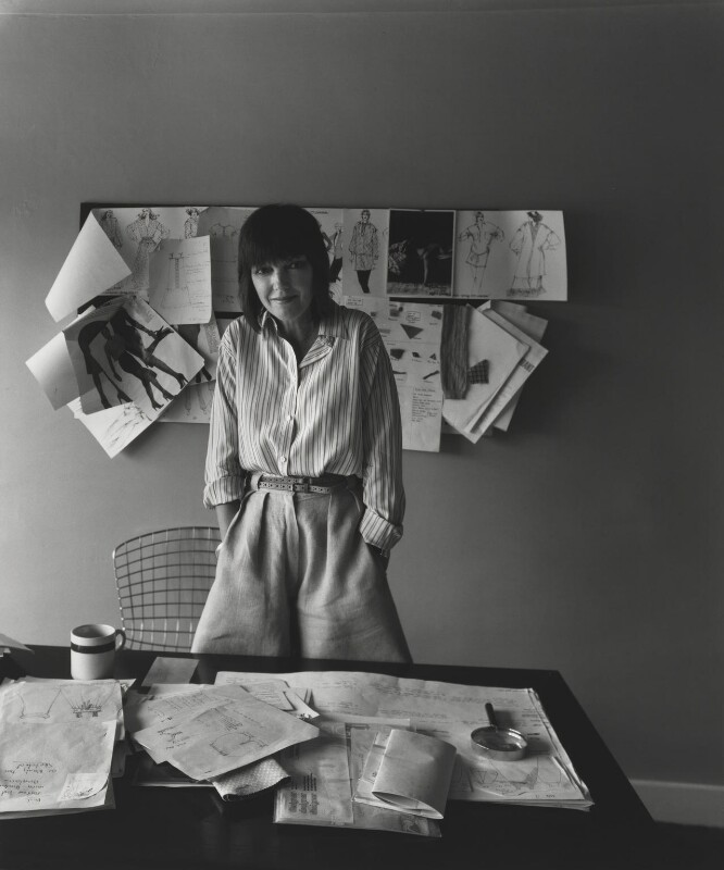Dame Mary Quant, by Arnold Newman, 1978 - NPG P150(34) - © Arnold Newman / Getty Images