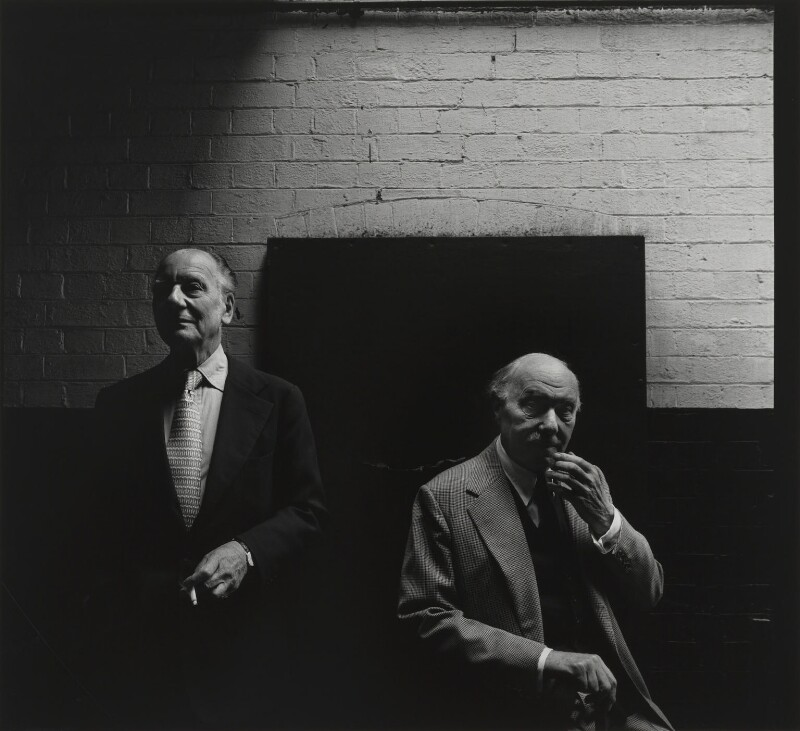 John Gielgud; Sir Ralph Richardson, by Arnold Newman, 1978 - NPG P150(41) - © Arnold Newman / Getty Images