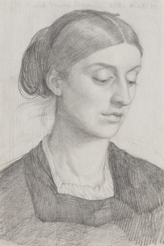 Rosalind Frances (née Stanley), Countess of Carlisle, by George James Howard, 9th Earl of Carlisle, 1868 - NPG 6206 - © National Portrait Gallery, London