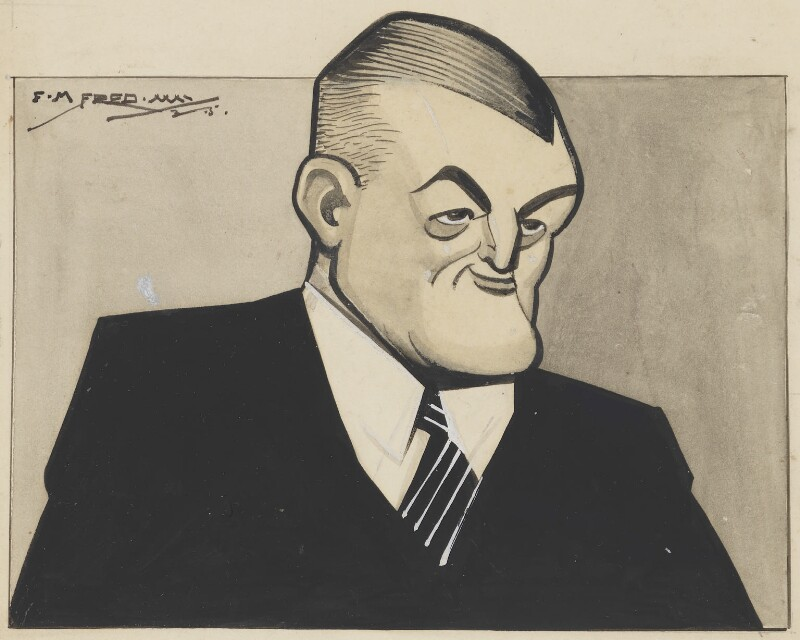 Sir (William) Guy Granet, by Fred May, 1935 - NPG 6207 - © National Portrait Gallery, London