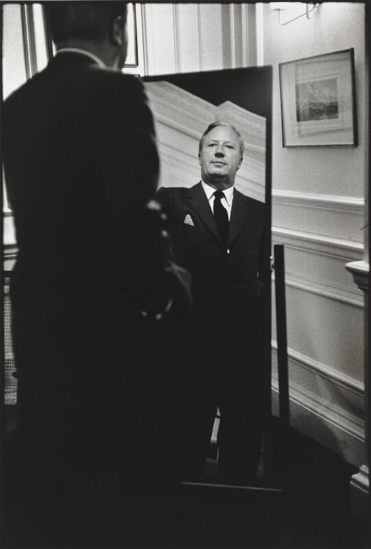 Sir Edward Heath, by Eve Arnold, 1965 - NPG P521 - © Eve Arnold / Magnum Photos