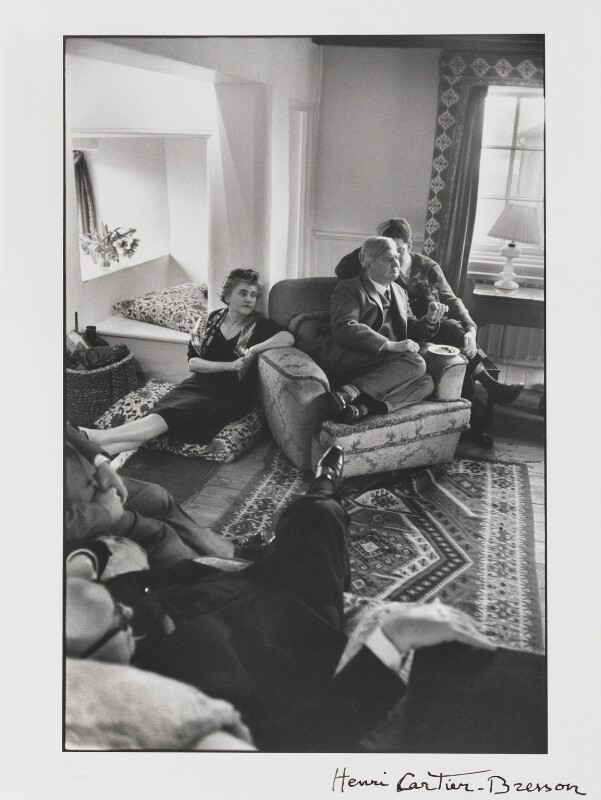 The Bevans (Aneurin Bevan; Jennie Lee; Karol Keres; Pietro Nenni), by Henri Cartier-Bresson, 1957 - NPG P431 - © Henri Cartier-Bresson / Magnum Photos