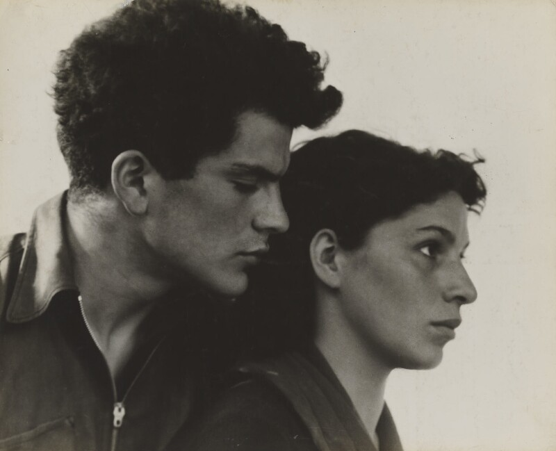 John Cornford; Rachel ('Ray') Peters, by Ramsey & Muspratt, 1934 - NPG P363(7) - © Peter Lofts Photography / National Portrait Gallery, London