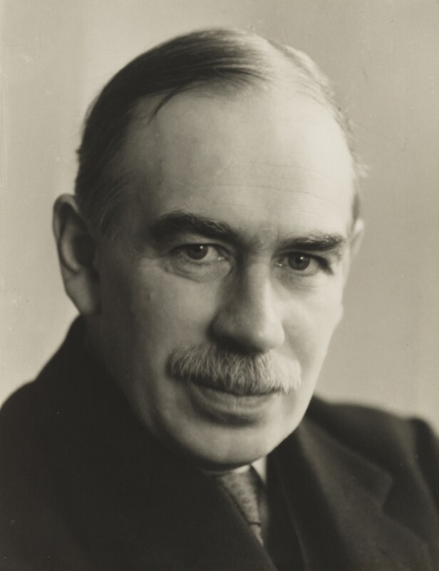 John Maynard Keynes, Baron Keynes, by Ramsey & Muspratt, 1937 - NPG P363(14) - © Peter Lofts Photography / National Portrait Gallery, London