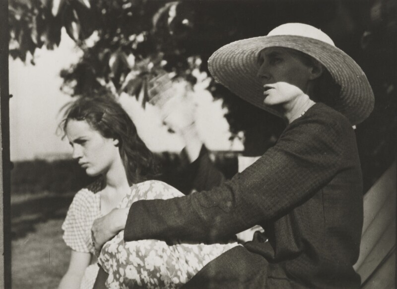 Angelica Garnett; Virginia Woolf, by Ramsey & Muspratt, 1932 - NPG P363(22) - © Peter Lofts Photography / National Portrait Gallery, London