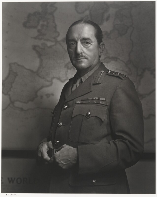Alan Francis Brooke, 1st Viscount Alanbrooke, by Yousuf Karsh, 1943 - NPG P490(1) - © Karsh / Camera Press
