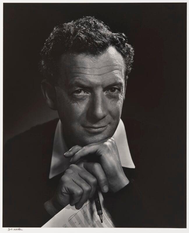 Benjamin Britten, by Yousuf Karsh, 1954 - NPG P490(13) - © Karsh / Camera Press