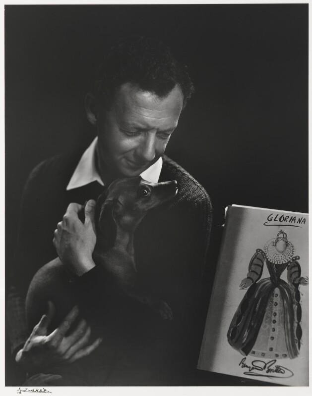 Benjamin Britten, by Yousuf Karsh, 1954 - NPG P490(14) - © Karsh / Camera Press