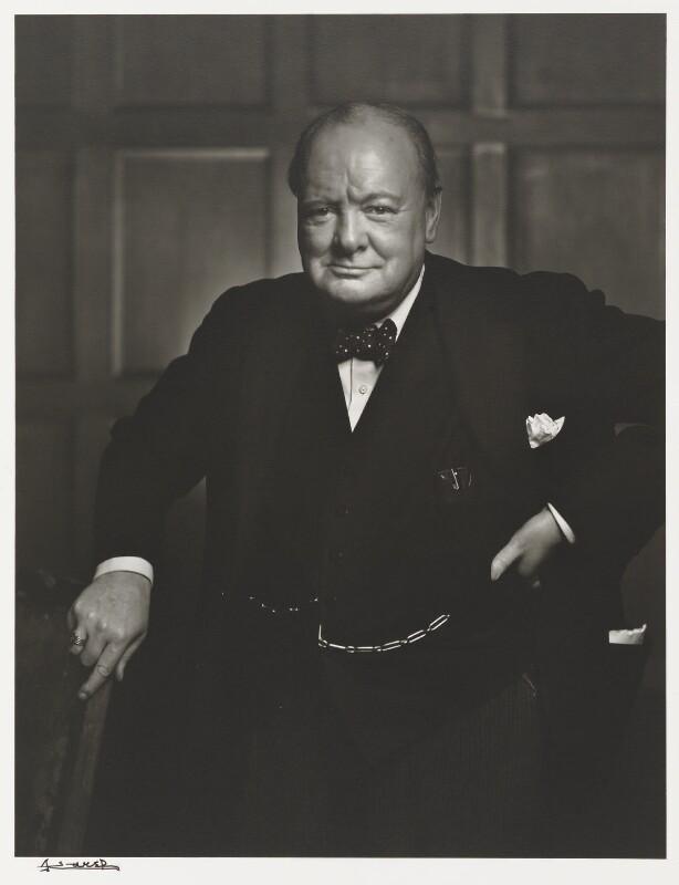 Winston Churchill, by Yousuf Karsh, 1941 - NPG P490(17) - © Karsh / Camera Press
