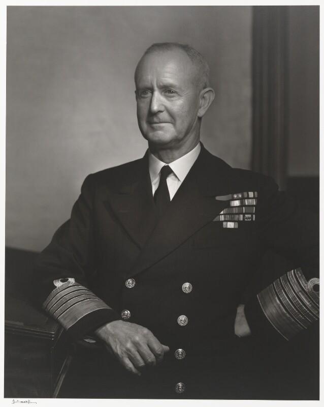 Andrew Browne Cunningham, Viscount Cunningham, by Yousuf Karsh, 1943 - NPG P490(22) - © Karsh / Camera Press