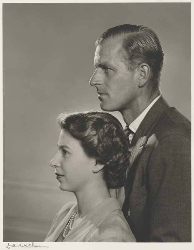 Npg P49026 Queen Elizabeth Ii Prince Philip, Duke Of Edinburgh -4528